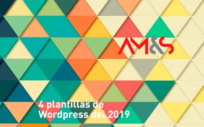 4 plantillas de WordPress del 2019